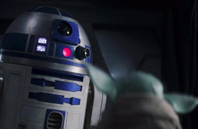 La reunión entre Grogu y R2-D2