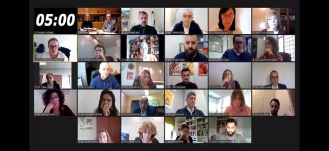 Ple telemàtic de l'Hospitalet de Llobregat (Barcelona)