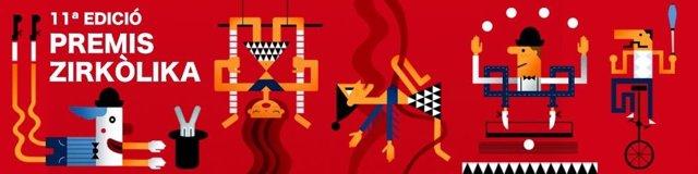 Cartell dels Premis Zirkpolika de circ