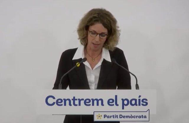La candidata del PDeCAT a les eleccions catalanes del 14 de febrer, Àngels Chacón