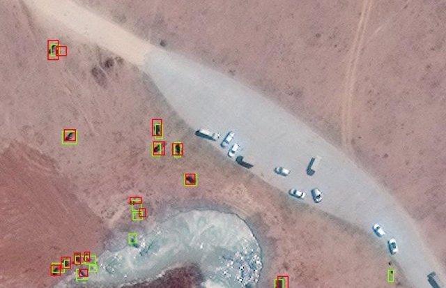 Conteo de elefantes con imágenes de satélite