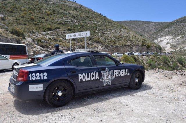 Coche de la Policía Federal de México