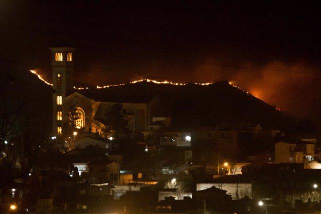 El fuego ha afectado especialmente a la provincia de Córdoba este año en el que se han quemado más de un millón de hectáreas en Argentina.