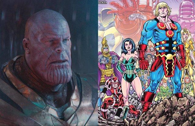 Revelada la conexión entre Thanos y Los Eternos