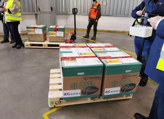 TIPSA y Cool Chain Logistics transportan la vacuna de Pfizer contra el coronavirus