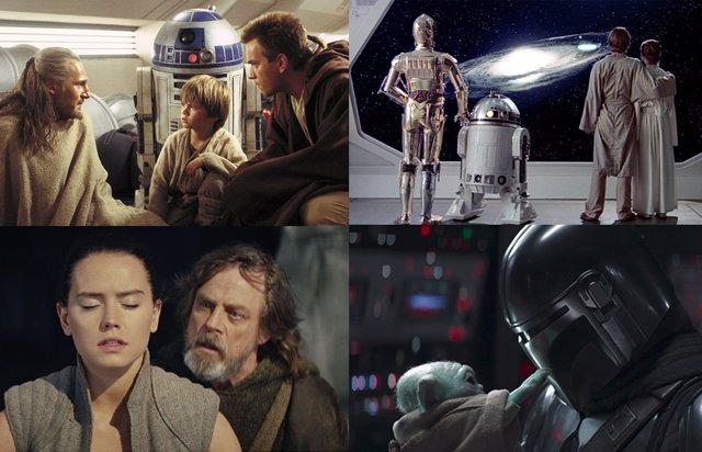 The Mandalorian y el resto de series y películas de Star Wars en orden cronológico