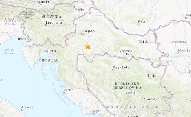 Terremoto de magnitud 5,1 en Croacia