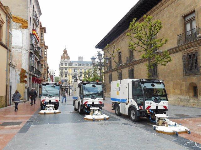 Limpieza viaria de Oviedo