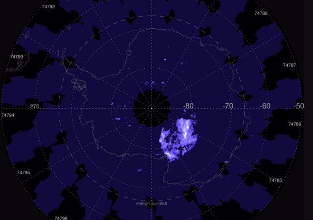 Estas imágenes de AIM abarcan del 8 al 19 de diciembre de 2020, comenzando con las primeras observaciones de AIM de la temporada de nubes noctilucentes en la Antártida