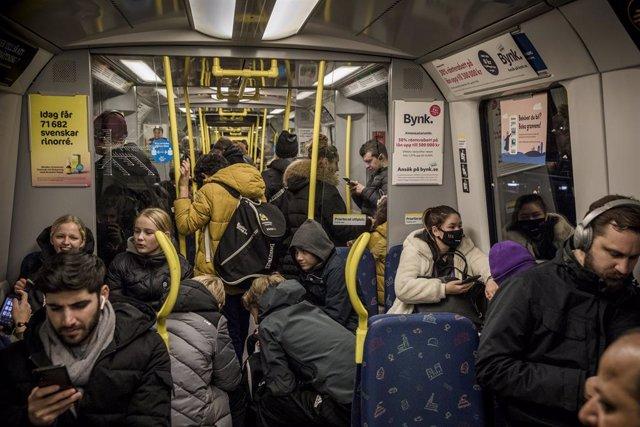 Vagón del metro de Estocolmo