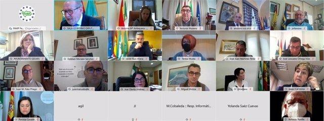 Reunión de la Comisión Ejecutiva de la FAMP