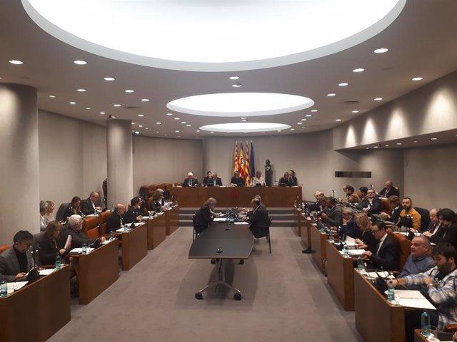 Ple de la Diputació de Barcelona (Arxiu)