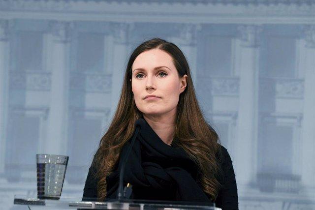 La primera ministra de Finlandia, Sanna Marin