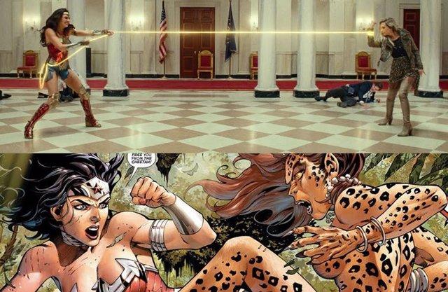 Diferencias entre Cheetah en los cómics y en Wonder Woman 1984