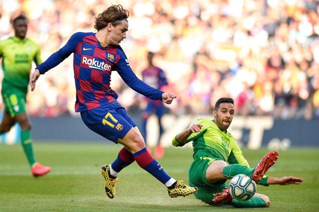 Griezmann en el Barça - Eibar