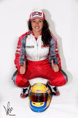 La piloto española Lydia Sempere