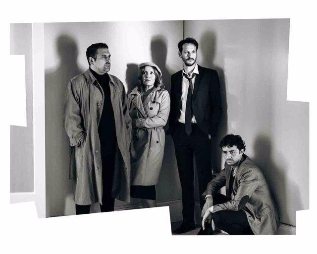 Imatge de l'obra 'Els subornats' de Lluïsa Cunillé, dirigida per Lurdes Barba.