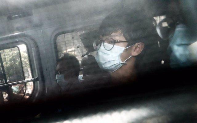 El activista hongkonés Tony Chung Hon Lam