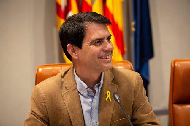 L'alcalde d'Igualada i número tres de la llista del PDeCAT a les eleccions, Marc Castells (arxiu)