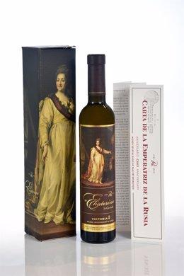 Producción especial de vinos de las Bodegas Ordóñez con un etiquetado exclusivo que utiliza obras maestras de la Colección del Museo de San Petersburgo