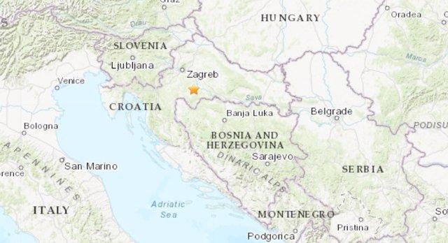 Terremoto de magnitud 6,3 en Croacia