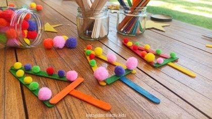 Árboles de Navidad: manualidades educativas para niños