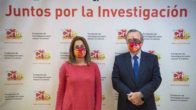 Marta Cardona y Mariano Barbacid