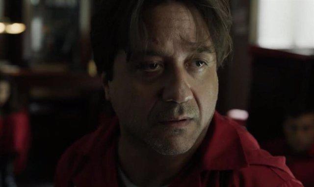Enrique Arce En 'La Casa De Papel'.
