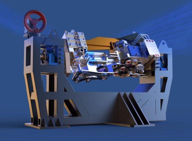 Ooak Ridge está diseñando un motor de investigación neutrónica para evaluar nuevos materiales y diseños para vehículos avanzados