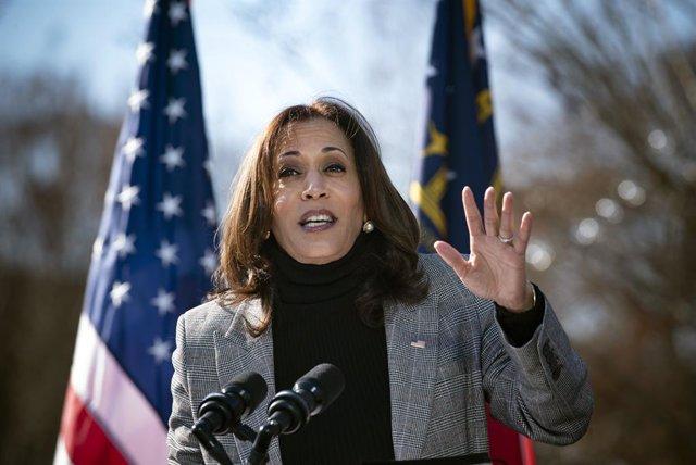 La vicepresidenta electa de EEUU, Kamala Harris.