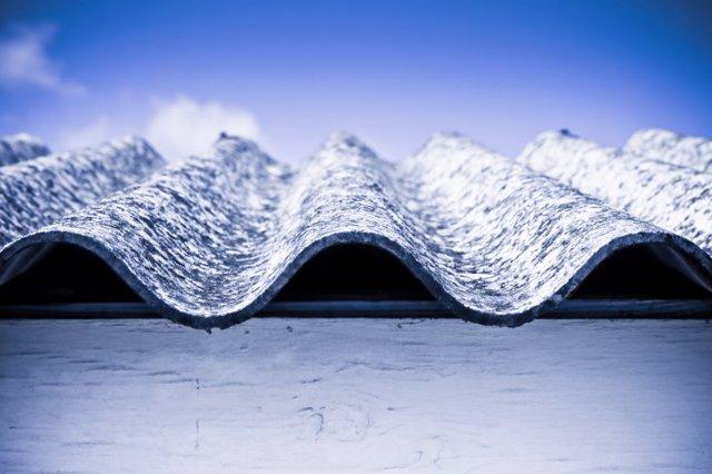 Dangerous asbestos roof