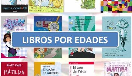 Libros para niños por edades: guía para elegir de 0 a 14 años