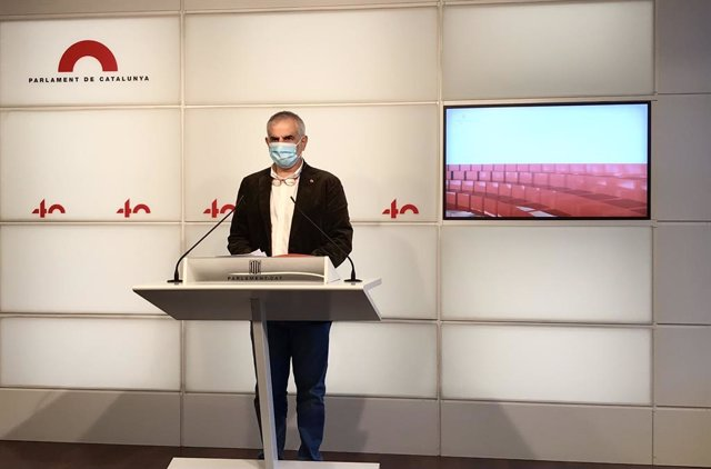 El líder de Cs a Catalunya i candidat a les eleccions del 14 de febrer, Carlos Carrizosa