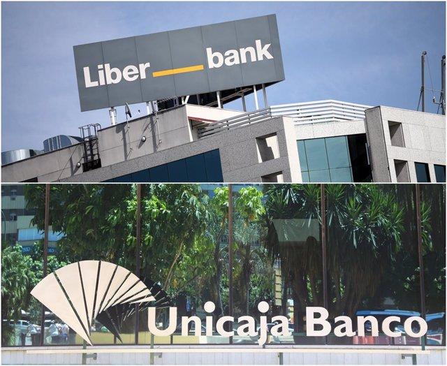 Los consejos de administración de Liberbank y Unicaja Banco acuerdan su fusión.