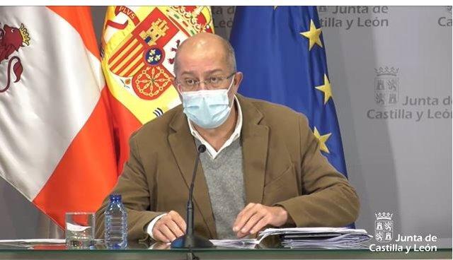 Igea durante la rueda de prensa posterior al último Consejo de Gobierno de 2020.