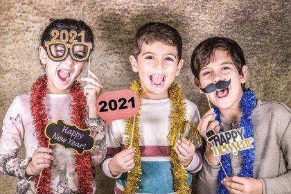 7 ideas divertidas para recibir el 2021 en casa con los niños