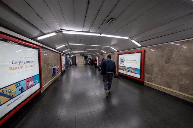 Imagen de recurso de instalaciones de Metro de Madrid.