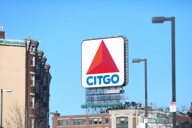 Cartel de Citgo en Boston