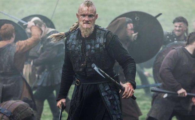 Escena de la sexta temporada de 'Vikingos'.