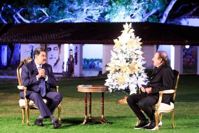 Entrevista de Nicolás Maduro con Ignacio Ramonet para 'La Jornada'