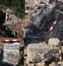 Restos de un templo griego dedicado a Afrodita en la provincia turca de Esmirna