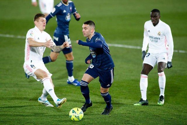 Iago Aspas, Real Madrid - Celta