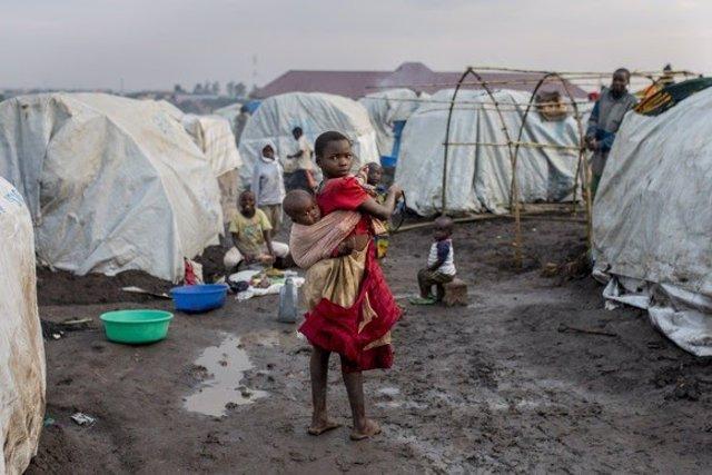 Desplazados por la violencia en Ituri (RDC)