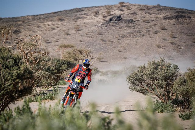 03 Price Toby (aus), KTM, Red Bull KTM Factory Team, Moto, Bike, action during the 1st stage of the Dakar 2021 between Jeddah and Bisha, in Saudi Arabia on January 3, 2021 - Photo Antonin Vincent / DPPI