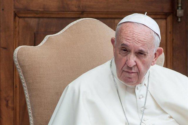 El Papa Francisco en un encuentro con 400 niños en el Vaticano
