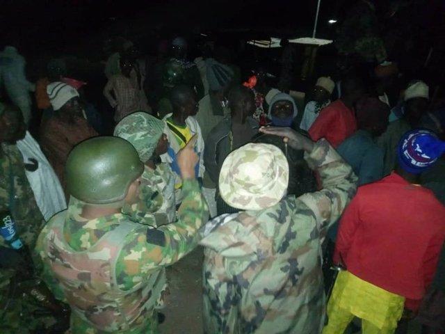 Militares del Ejército de Níger