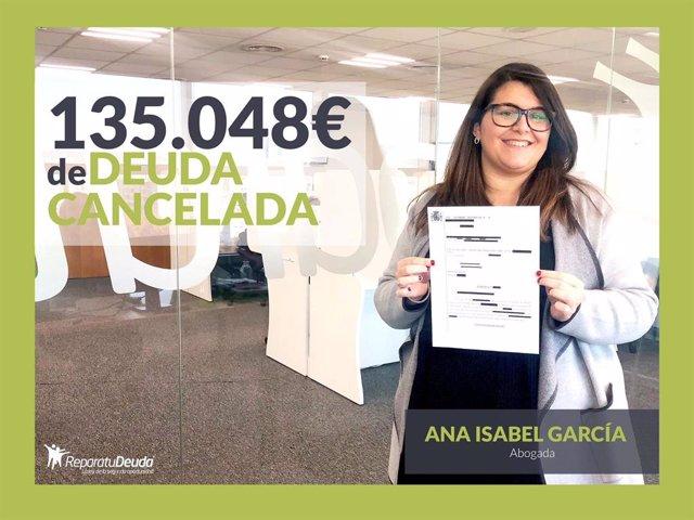 Ana Isabel García, abogado directora en Repara tu deuda abogados