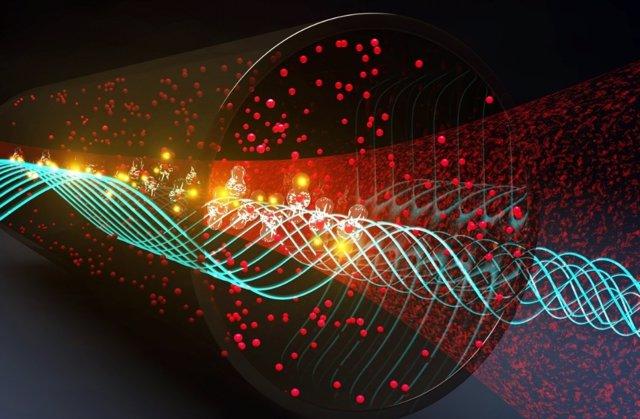 Un sensor cuántico para geolocalizar comunicaciones en todo el espectro radioeléctrico