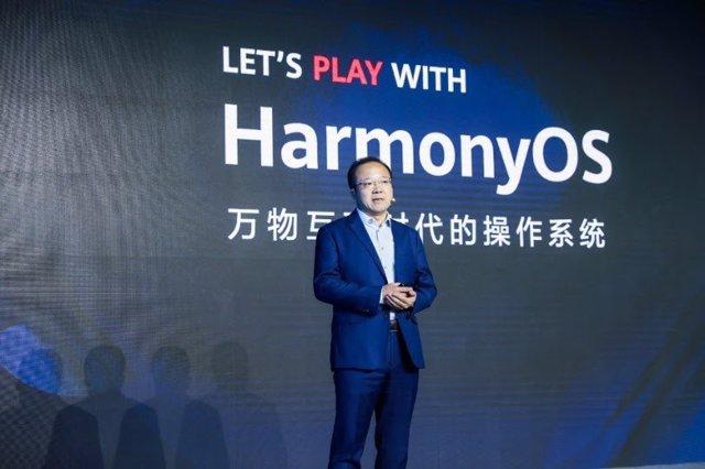 Presentación de HarmonyOS durante HDC 2020