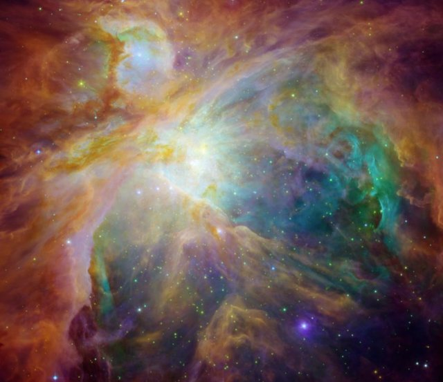 Núcleo de la Nebulosa de Orión